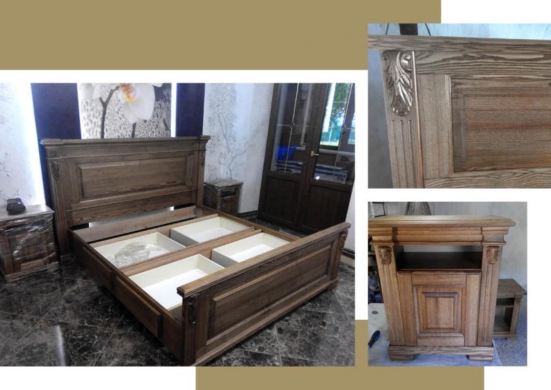Купить кровать деревянную - swood