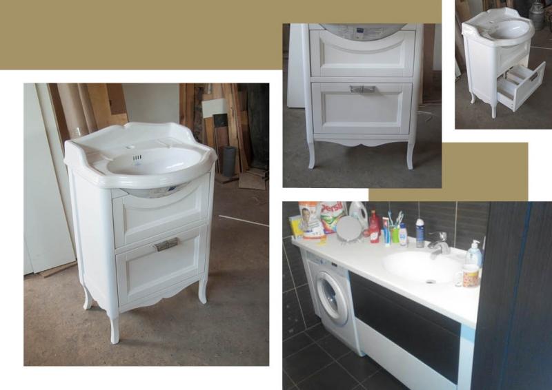 Деревянная мебель для ванной заказать - swood
