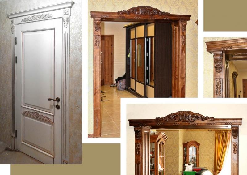 Двери резные деревянные заказать - swood