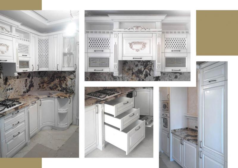Элитная резная кухня под заказ в Киеве - swood