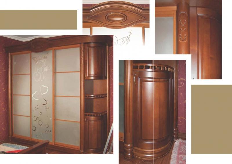Купить деревянный шкаф в Прилуках - swood