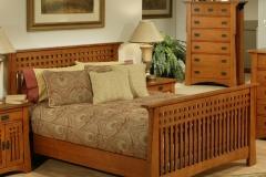 Beautiful Bedroom Design Solid Wood Bedroom Furniture Natire Painting